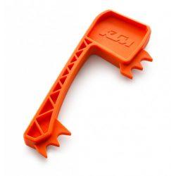 KTM láncfeszesség állító, segédeszköz