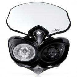 Acerbis Cyclope lámpaidom, fekete színben