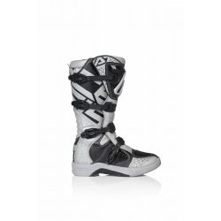 Acerbis X-Team cross csizma, Silver-black