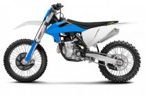 Acerbis full plastic kit KTM SX/SFX 2019 - WHITE/BLUE