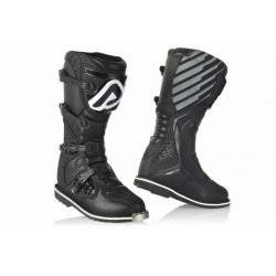 Acerbis E-Team Enduro Black csizma, fekete