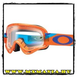 Oakley XS-O-Frame MX Heritage Racer cross szemüveg, Neon Orange