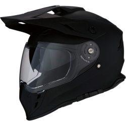 Z1R Range Dual Sport bukósisak, Flat Black XS MÉRET