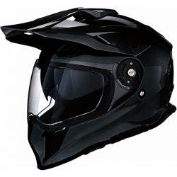 Z1R Range Dual Sport bukósisak, Black