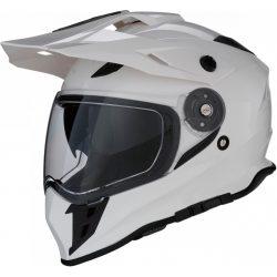 Z1R Range Dual Sport bukósisak, White