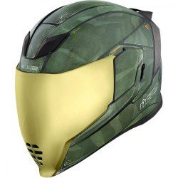 ICON   Airflite™  Battlescar 2   bukósisak, zöld