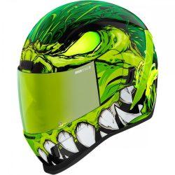 ICON   Airflite™ Manik'R    bukósisak, zöld-fehér-fekete-fluo zöld