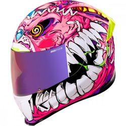 ICON Airframe Pro™ Beastie Bunny bukósisak, pink
