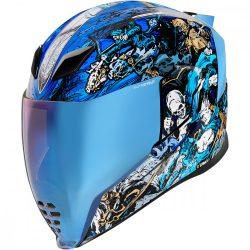 ICON  Airflite™ 4 Horsemen  bukósisak, kék