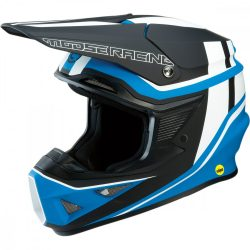Moose Racing FL Agroid black-blue bukósisak