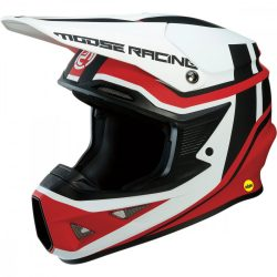 Moose Racing FL Agroid black-red bukósisak