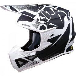 Moose Racing FL Agroid white-black bukósisak
