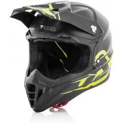 Acerbis helmet impact carbon 3.0 fekete-neon sárga bukósisak