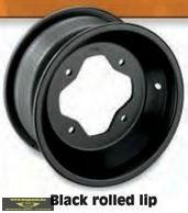 AMS Aluminium felni fekete színben
