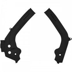 Polisport vázvédő KTM SX+SXF 17/19 + EXC+EXCF 16/20 motorokhoz, fekete színben