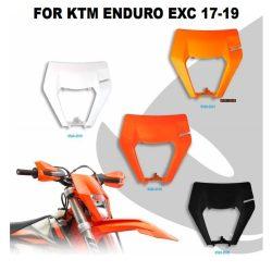 KTM EXC fejidom 3 féle színben, KTM ENDURO EXC 17-19