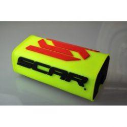 Scar Oversize O2 kormányszivacs, fluo sárga
