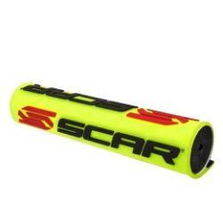 Scar Regular S2 kormányszivacs, fluo sárga