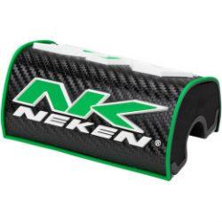 Neken 28,6mm  3D kormányszivacs,fekete-zöld