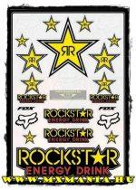 FOX Rockstar II matrica szett