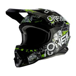 Oneal 3series ATTACK 2.0 BLACK/NEON YELLOW bukósisak