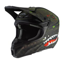 O'NEAL 5SERIES POLYACRYLITE WARHAWK BLACK/GREEN