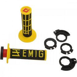 ODI Racing V2 Lock-on csavaros markolat, sárga-fekete