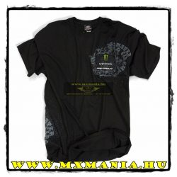 Pro Circuit Monster Grunge póló, Fekete