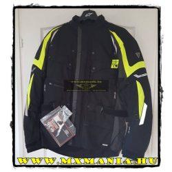 Modeka Wulf Black neon motoros kabát
