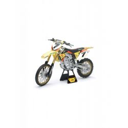 Suzuki RM-Z450 James Stewart motor modell - 1:6 - New Ray