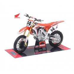 HRC Team Honda Race Bike (Cole Seely) - New Ray 1:12