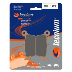 TECNIUM MX/ATV Sintered Metal Brake pads - MO104