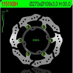 NG BRAKE DISC Petal úszó féktárcsa