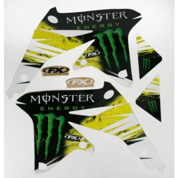 Monster Energy Suzuki RMZ450 08-09 matricaszett