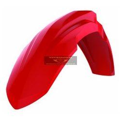 Polisport első sárvédő Honda motorokohoz, piros