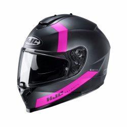 HJC C70 EURA, Fekete-Pink
