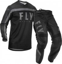 Fly Racing F-16 Jersey and Pants Combo Black/Gray