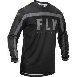 FLY RACING F-16 MEZ, BLACK-GRAY XXL MÉRET