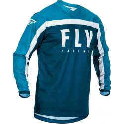 FLY RACING F-16 MEZ, BLACK-BLUE