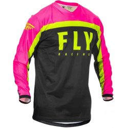 FLY RACING F-16 MEZ, BLACK-PINK M méret