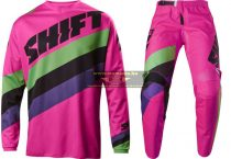 Shift 2017 Whit3 Tarmac crossruha szett, Fekete Pink