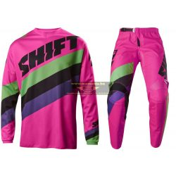 Shift Whit3 Tarmac crossruha szett, Fekete Pink