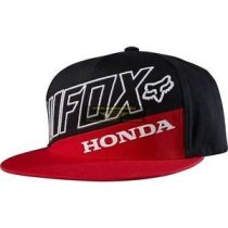 Fox Honda Premium Black-Red Snapback