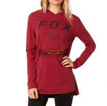 FOX 2018 Axiom  hosszújjú póló, dark red