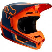 FOX MX19 V1 MVRS PRZM, bukósisak, narancs