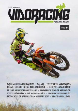 Vidoracing Motocross Magazin Augusztus