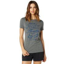 Fox Girl T-Shirt Throttle Maniac grey színben