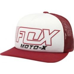 Fox Throttle Maniac Snapback red