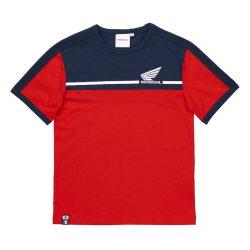 Honda Racing T-shirt ,piros-sötétkék  L méret