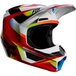 Fox MX19 V1 MVRS Motif red-yellow bukósisak